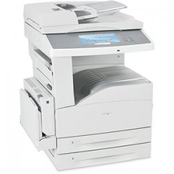 Lexmark - 19Z0100 - Lexmark X860DE 3 Multifunction Printer - Monochrome - 35 ppm Mono - 1200 x 1200 dpi - Printer, Scanner, Copier