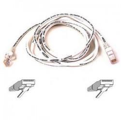 Belkin - A3L791-03-WHT - Belkin Cat5e Patch Cable - RJ-45 Male Network - RJ-45 Male Network - 3ft - White