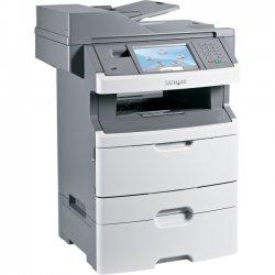 Lexmark - 13C0056 - Lexmark X466DTE Laser Multifunction Printer - Monochrome - Plain Paper Print - Floor Standing - Copier/Printer/Scanner - 40 ppm Mono Print - 1200 x 1200 dpi Print - Automatic Duplex Print - 40 cpm Mono Copy - 600 dpi Optical Scan - 850