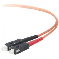 Belkin - A2F20277-20M - Belkin Fiber Optic Duplex Patch Cable - SC Male - SC Male - 65.62ft
