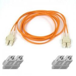 Belkin / Linksys - A2F20277-1000 - Belkin Duplex Fiber Optic Patch Cable - SC Male Network - SC Male Network - 1000ft - Orange
