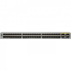 Cisco - N3K-C3064PQ-10GE - Cisco Nexus 3064-E Switch Chassis - 48 x 10 Gigabit Ethernet Expansion Slot, 4 x 40 Gigabit Ethernet Expansion Slot - Manageable - 3 Layer Supported - 1U High - 1 Year Limited Warranty