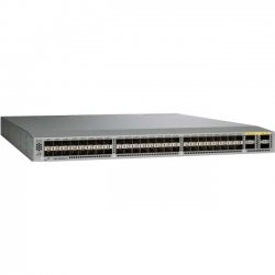 Cisco - N3K-C3064-E-BA-L3 - Cisco Nexus 3064-E Switch Chassis - 52 x Expansion Slots - 10/100/1000Base-T - 48 x Expansion Slot, 4 x Expansion Slot - 48 x SFP+ Slots - 3 Layer Supported - 1U High - Rack-mountable - 1 Year