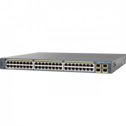 Cisco - WS-C2975GS48PSL-RF - Cisco Catalyst 2975 Ethernet Switch - Refurbished - 48 x Gigabit Ethernet Network, 4 x Gigabit Ethernet Expansion Slot - Manageable - 2 Layer Supported - 1U High - Rack-mountable, Wall Mountable, Desktop