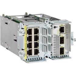 Cisco - GRWIC-D-ES-2S-8PC - Cisco GRWIC-D-ES-2S-8PC Service Module - 8 x 10/100Base-TX LAN, 1 x 10/100/1000Base-T - 1 x SFP (mini-GBIC) , 1 x SFP (mini-GBIC) 100 - 2 x Expansion Slots