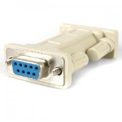 StarTech - NM9FF - StarTech.com DB9 RS232 Serial Null Modem Adapter - F/F - 1 x DB-9 Female - 1 x DB-9 Female