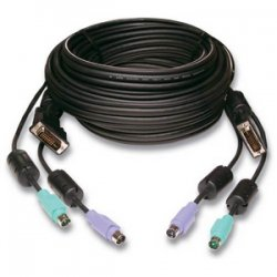 Avocent - CBL0024 - Avocent SwitchView Single-Link KVM Cable - 15ft