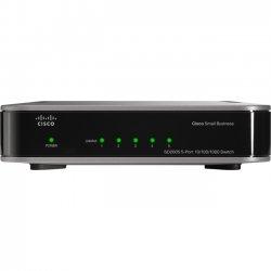 Cisco - SD2005-RF - Cisco SD2005 Ethernet Switch - 5 Ports - Refurbished - 10/100/1000Base-T - 5 x Network - Gigabit Ethernet, Fast Ethernet - 2 Layer Supported - Desktop