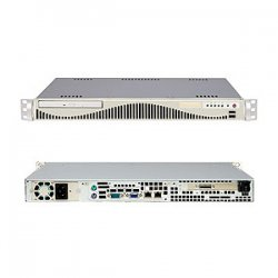 Supermicro - SYS-6015V-MR - Supermicro SuperServer 6015V-MR Barebone System - Intel 5000V - LGA771 Socket - Xeon (Quad-core), Xeon (Dual-core) - 1333MHz, 1066MHz, 667MHz Bus Speed - 16GB Memory Support - DVD-Reader (DVD-ROM) - Gigabit Ethernet - 1U Rack