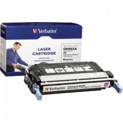 Verbatim / Smartdisk - 95482 - Verbatim Remanufactured Laser Toner Cartridge alternative for HP Q5953A Magenta - Magenta - Laser - 10000 Page - OEM