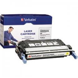 Verbatim / Smartdisk - 95483 - Verbatim Remanufactured Laser Toner Cartridge alternative for HP Q5952A Yellow - Yellow - Laser - 10000 Page - OEM