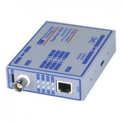 Omnitron - 4320-0 - Omnitron Systems FlexPoint 10T/2 Media Converter - 1 x RJ-45 , 1 x BNC - 10Base-T, 10Base-2 - Wall-mountable