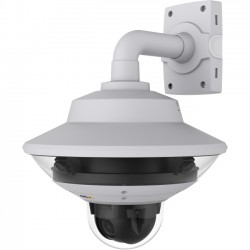 Axis Communication - 0636-001 - AXIS Q6000-E 2 Megapixel Network Camera - Color - 1280 x 720 - Cable - Ethernet - Dome