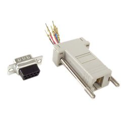 Belkin / Linksys - F4C190 - Belkin Serial Adapter - 1 Pack - 1 x RJ-45 Female - 1 x DB-9 Male