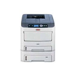 Okidata - 62433405 - Oki C610DTN LED Printer - Color - 1200 x 600 dpi Print - Plain Paper Print - Desktop - 34 ppm Mono / 32 ppm Color Print - Legal, Letter, Universal, Banner, Custom Size - 930 sheets Standard Input Capacity - 75000 pages per month -