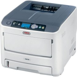 Okidata - 62433407 - Oki C610CDN LED Printer - Color - 1200 x 600 dpi Print - Plain Paper Print - Desktop - 34 ppm Mono / 32 ppm Color Print - DL Envelope, Com10 Envelope, Com 9 Envelope, Monarch Envelope, Envelope No. 10, Legal, Letter, Universal, Custom