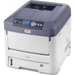 Okidata - 62433502 - Oki C711N LED Printer - Color - 1200 x 600 dpi Print - Plain Paper Print - Desktop - EU Printer - 36 ppm Mono / 34 ppm Color Print - Legal, Letter, Universal, A5, Custom Size - 630 sheets Standard Input Capacity - 100000 pages per