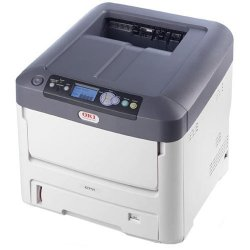 Okidata - 62433503 - Oki C711DN LED Printer - Color - 1200 x 600 dpi Print - Plain Paper Print - Desktop - 36 ppm Mono / 34 ppm Color Print - 630 sheets Standard Input Capacity - 100000 pages per month - Automatic Duplex Print - LCD - Ethernet - USB