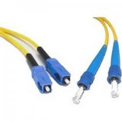 C2G (Cables To Go) - 13478 - 3m SC-ST 9/125 OS1 Duplex Singlemode PVC Fiber Optic Cable - Yellow - Fiber Optic for Network Device - SC Male - ST Male - 9/125 - Duplex Singlemode - OS1 - 3m - Yellow