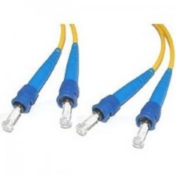 C2G (Cables To Go) - 13701 - C2G 3m ST-ST 9/125 Duplex Single Mode OS2 Fiber Cable - Yellow - 10ft - Fiber Optic for Network Device - ST Male - ST Male - 9/125 - Duplex Singlemode - OS1 - 3m - Yellow