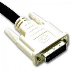 C2G (Cables To Go) - 26948 - C2G 2m DVI-I M/M Dual Link Digital/Analog Video Cable (6.5ft) - DVI-I Male - DVI-I Male - 6.56ft - Black