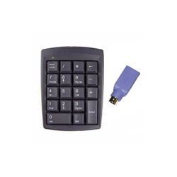 Genovation - 631 - Genovation Micropad 631 Numeric Keypad - USB - 18 Keys - Gray