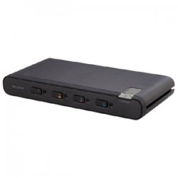 Belkin / Linksys - F1DN104B - Belkin KVM Switch - 4 Computer(s) - 2560 x 1600 - 6 x USB - 5 x DVI - TAA Compliant