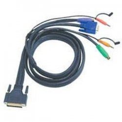 Aten Technologies - 2L1701P - Aten MasterView Pro 1000 Series KVM Cable - 6ft - Black