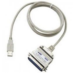 Aten Technologies - UC1284B - Aten Printer Port Converter - Type A Male USB, Centronics Male Parallel - 6ft