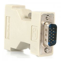 StarTech - DVIVGAFM - StarTech.com DVI to VGA Cable Adapter - F/M - 1 x DVI Female Video - 1 x HD-15 Male - Beige