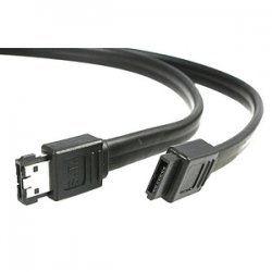 StarTech - SATA2ESATA6 - StarTech.com 6 ft Shielded eSATA to SATA Cable - Male SATA - Male eSATA - 6ft - Black