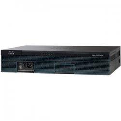 Cisco - C2901-VSEC/K9 - Cisco 2901 Integrated Services Router - 2 x PVDM, 4 x HWIC, 2 x CompactFlash (CF) Card, 1 x Services Module - 2 x 10/100/1000Base-T WAN