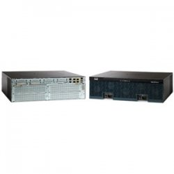 Cisco - CISCO3925-V/K9 - Cisco 3925 Integrated Services Router - 2 x CompactFlash (CF) Card, 4 x HWIC, 4 x PVDM, 3 x Services Module, 2 x SFP (mini-GBIC) - 3 x 10/100/1000Base-T WAN