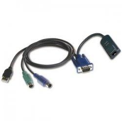 Avocent - DSAVIQ-PS2M - Avocent Virtual Media Server Interface Module - RJ-45 Female, HD-15 Male, Type A Male USB, mini-DIN (PS/2) Male
