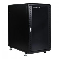 StarTech - RK2236BKF - StarTech.com 22U 36in Knock-Down Server Rack Cabinet with Caster - 36 22U