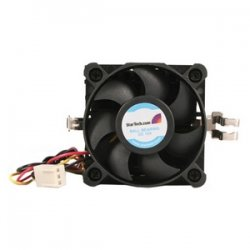 StarTech - FANP1003LD - StarTech.com 50x50x41mm Socket 7/370 CPU Cooler Fan w/ Heatsink and TX3 and LP4 - 4500rpm 1 x Ball Bearing
