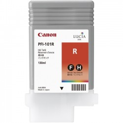 Canon - 0889B001 - Canon LUCIA Red Ink Tank For imagePROGRAF iPF5000 Printer - Inkjet - Red