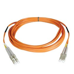 Tripp Lite - N520-12M - Tripp Lite 12M Duplex Multimode 50/125 Fiber Optic Patch Cable LC/LC 40' 40ft 12 Meter - Fiber Optic - Patch Cable - 39.37 ft - 2 x LC Male Network - 2 x LC Male Network - Orange