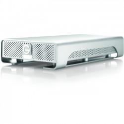 G-Tech / Fabrik / SimpleTech - 0G03124 - HGST G-DRIVE GDRETHU3PB30001BDB 3 TB External Hard Drive - SATA - Desktop - Thunderbolt, USB 3.0 - 7200rpm - 64 MB Buffer - Silver - 1 Pack