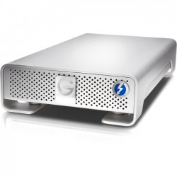 G-Tech / Fabrik / SimpleTech - 0G04996 - HGST G-DRIVE GDRETHU3NB80001BDB 8 TB External Hard Drive - USB 3.0, Thunderbolt - 7200rpm - Silver - Retail