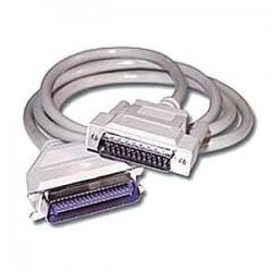 C2G (Cables To Go) - 02798 - C2G 6ft DB25 Male to Centronics 36 Male Parallel Printer Cable - DB-25 Male - Centronics Male - 6ft - Beige