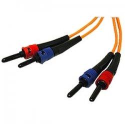 C2G (Cables To Go) - 05577 - 3m ST-ST 62.5/125 OM1 Duplex Multimode PVC Fiber Optic Cable - Orange - Fiber Optic for Network Device - ST Male - ST Male - 62.5/125 - Duplex Multimode - OM1 - 3m - Orange