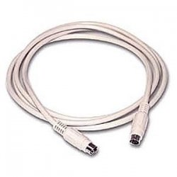 C2G (Cables To Go) - 02692 - C2G 6ft PS/2 M/M Keyboard/Mouse Cable - mini-DIN (PS/2) Male - mini-DIN Male - 6ft - Beige