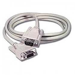 C2G (Cables To Go) - 02718 - C2G 10ft Economy HD15 SVGA M/F Monitor Extension Cable - HD-15 Male - HD-15 Female - 10ft - Beige
