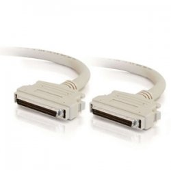 C2G (Cables To Go) - 07862 - C2G 3ft SCSI-3 MD68 M/M Cable (Latch Clip) - HD-68 Male SCSI - HD-68 Male SCSI - 3ft