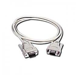 C2G (Cables To Go) - 02713 - C2G 15ft DB9 M/F Extension Cable - Beige - DB-9 Male - DB-9 Female - 15ft - White