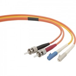 Belkin / Linksys - F2F902L0-03M - Belkin Fiber Optic Simplex Cable - LC Male - ST Male - 10ft