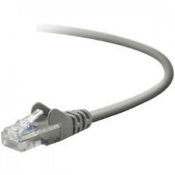 Belkin / Linksys - TAA791-10-GRY-S - Cable, Cat5e, Utp, Rj45m/m, 10, Gry, Patch, Snagless, Taa