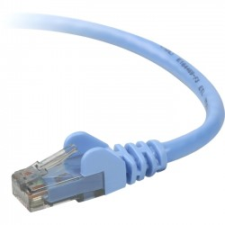 Belkin / Linksys - TAA980-20-BLU-S - Belkin Cat.6 UTP Patch Cable - RJ-45 Male Network - RJ-45 Male Network - 20ft - Blue