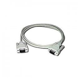C2G (Cables To Go) - 09452 - C2G 25ft DB9 M/F Extension Cable - Beige - DB-9 Male Serial - DB-9 Female Serial - 25ft